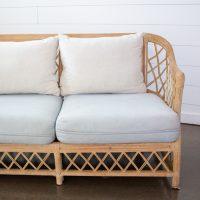 Eva light blue sofa
