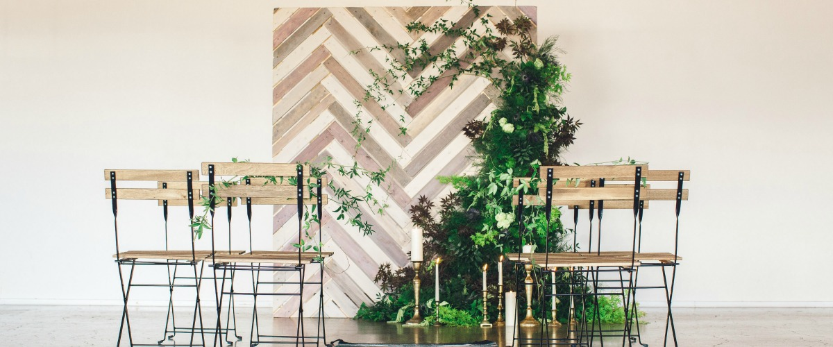 Herringbone Wall Inspiration
