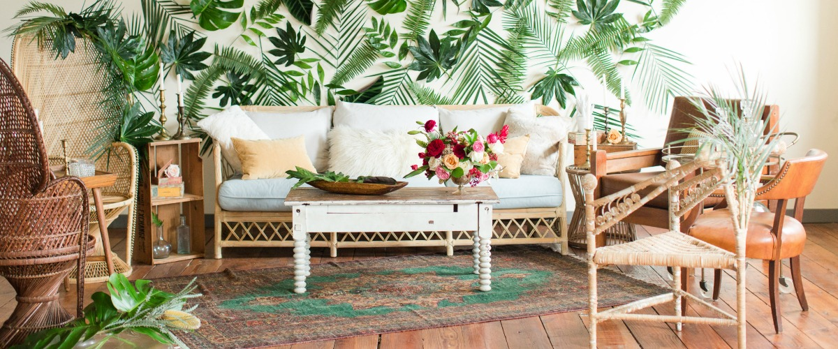 Rent this Cuban-Inspired Lounge!