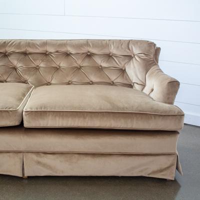 Vivian Taupe Sofa