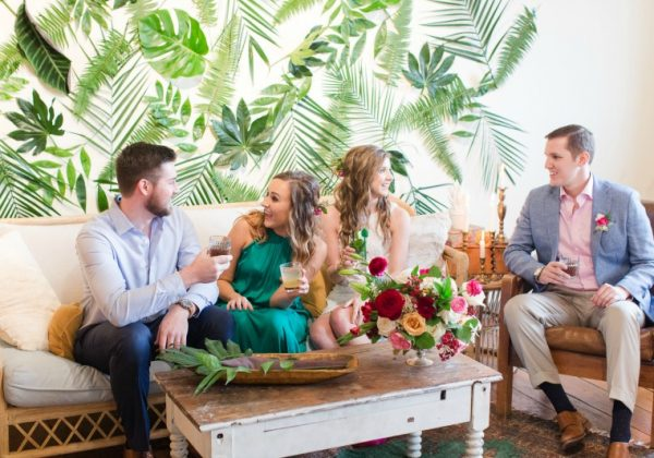 BRIK VENUE // STYLED EDITORIAL // HAVANA INSPIRED ENGAGEMENT PARTY