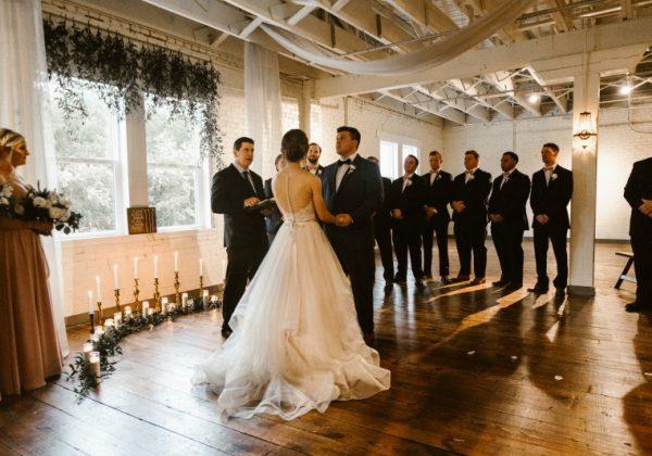 BRIK VENUE // REAL WEDDING // MARGO & DYLAN