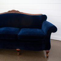 Wallace Navy Sofa