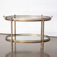Eliza Brass Coffee Table