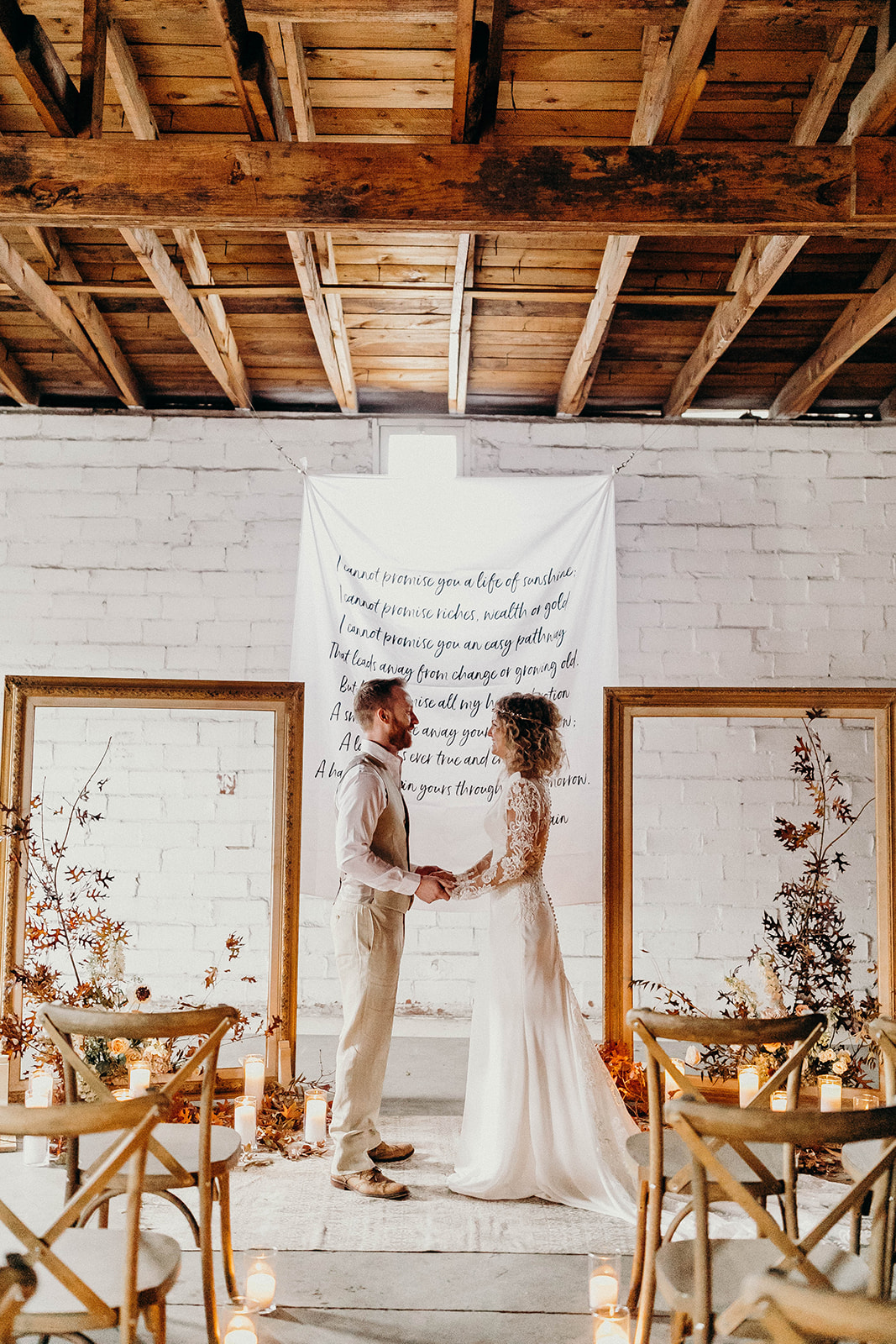 The Ostreum | Minimalist Fall Elopement