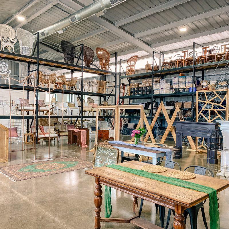 Sugar Creek Event Rentals Warehouse