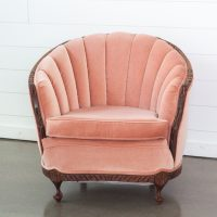 Cassandra Peach Chair