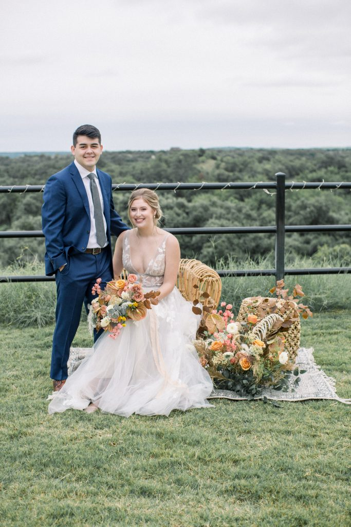 A Stunning Fall Inspired Editorial at Covered Bridge Venue - Shelby Alexis Photography