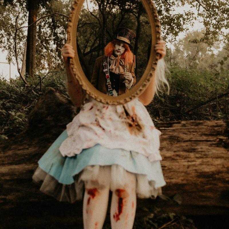 Dark Alice Editorial - Paige Greener Photography